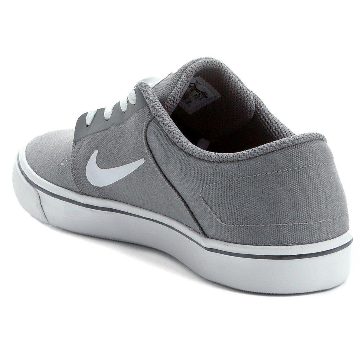 Tênis Nike SB Portmore Cinza e Branco