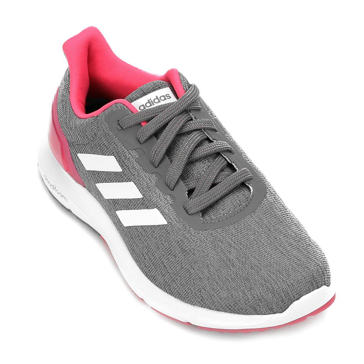 Tênis Adidas Cosmic 2 Feminino - Cinza e Branco