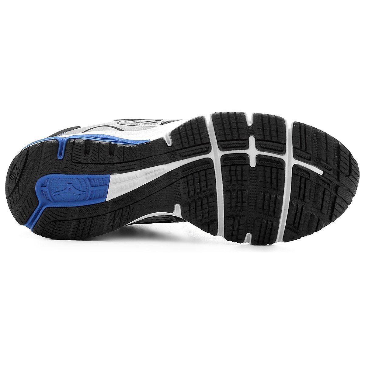 Tênis Mizuno Iron P Masculino - Prata e Azul