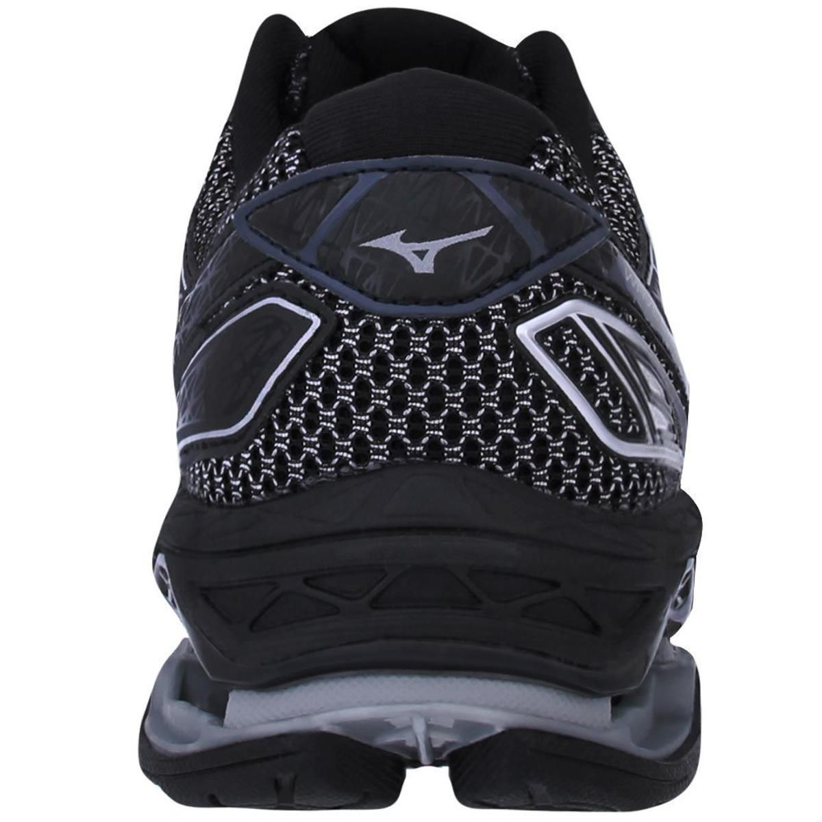 Tênis Mizuno Wave Creation 19 Masculino - Preto e Grafite