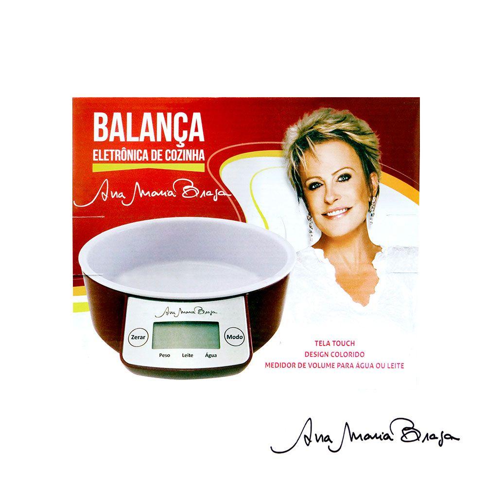 Balança Eletrônica de Cozinha-  Ana Maria Braga