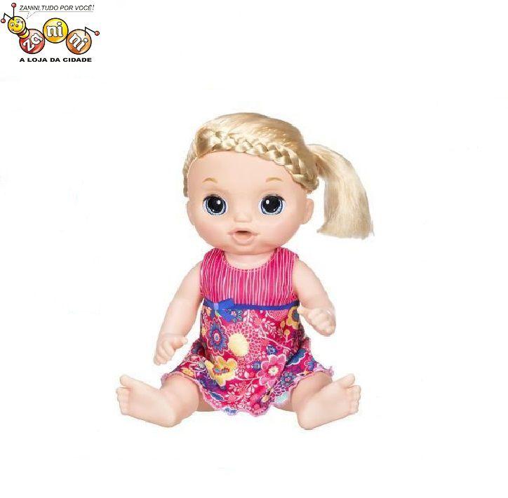 Boneca Baby Alive Doces Lágrimas Loira