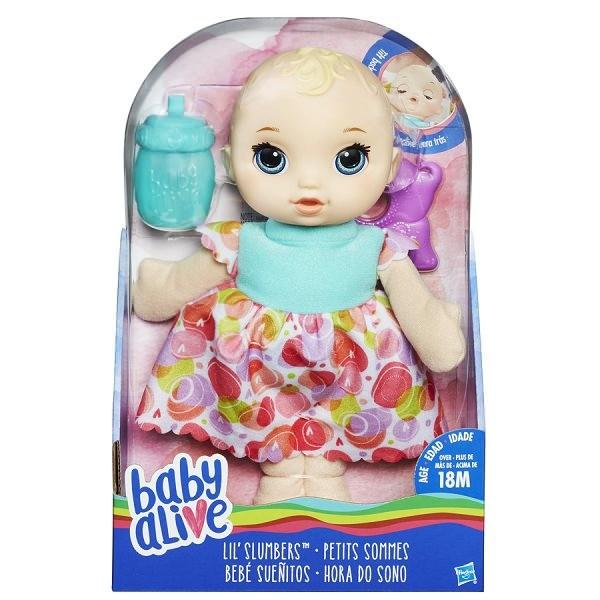 Boneca Baby Alive Hora do Sono Hasbro
