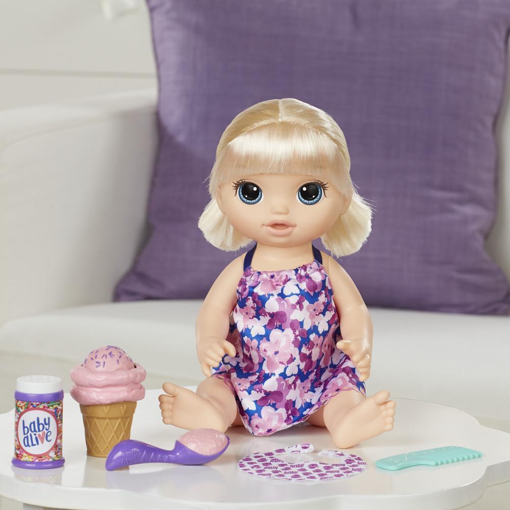 Boneca Baby Alive Sobremesa Mágica Loira Hasbro