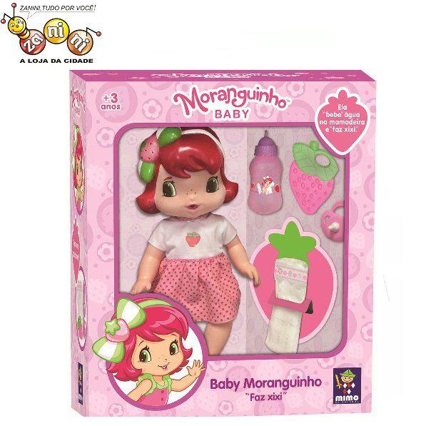 Boneca Moranguinho Baby Faz Xixi Mimo