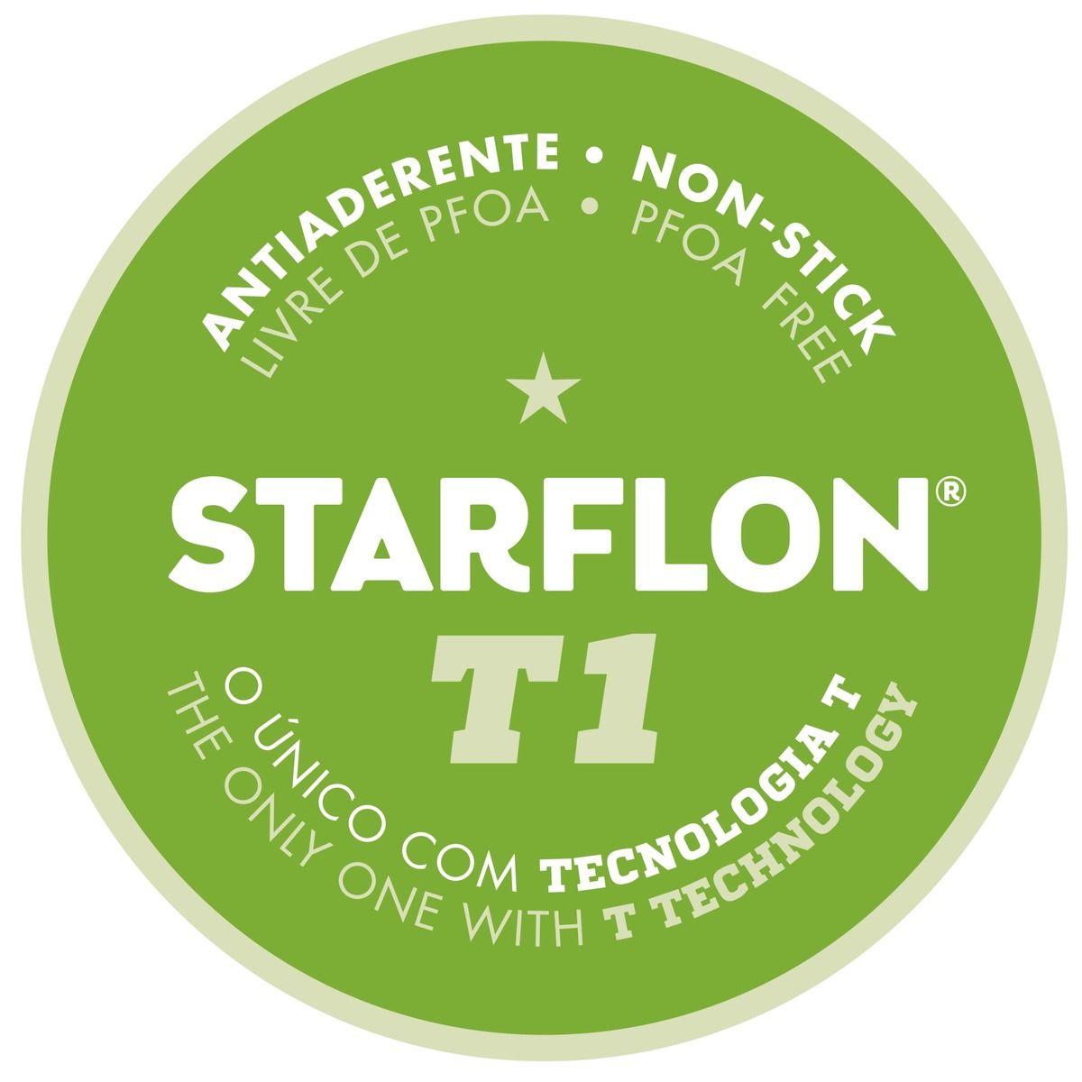 Caçarola Com Tampa 22cm  Starflon  Paris Tramontina