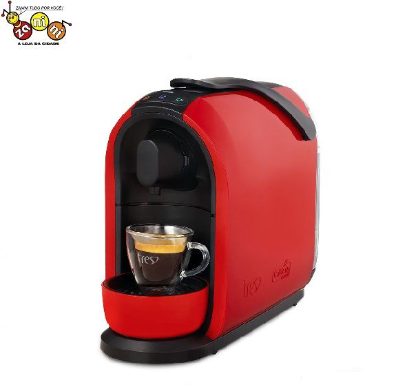 Cafeteira Mimo Três Corações Vermelha