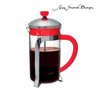 Cafeteira Tipo Francesa Ana Maria Braga Vermelha