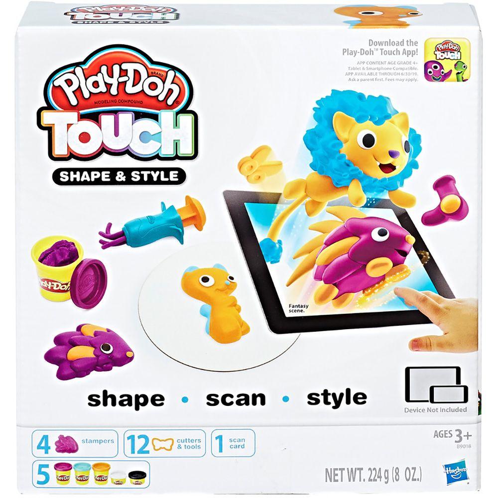 Conjunto Play-Doh Moldar a Vida Sortido Habro