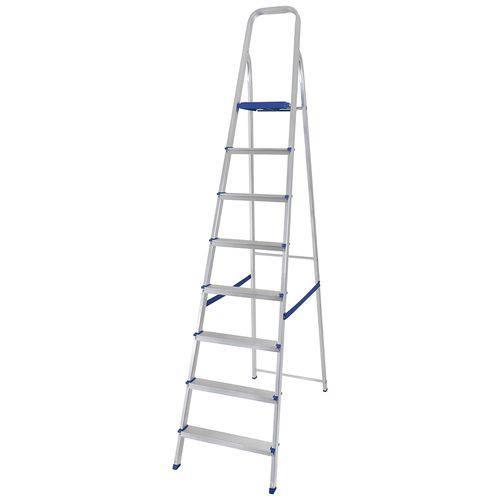 Escada de Alumínio 8 Degraus - Mor