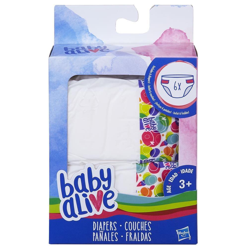 Fraldas para Boneca Baby Alive Hasbro