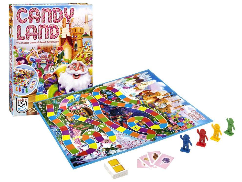 Jogo das Doces Aventuras Candy Land Hasbro Gaming