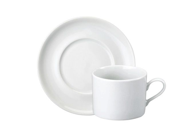 Jogo de Xícaras de Chá com Pires Porcelana 6 Peças Brasília-  Schmidt