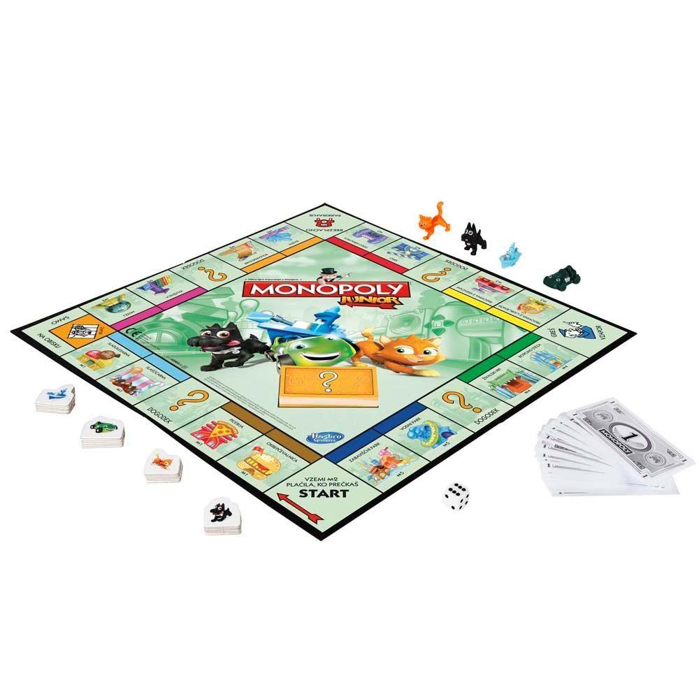 Jogo Monopoly Junior Hasbro