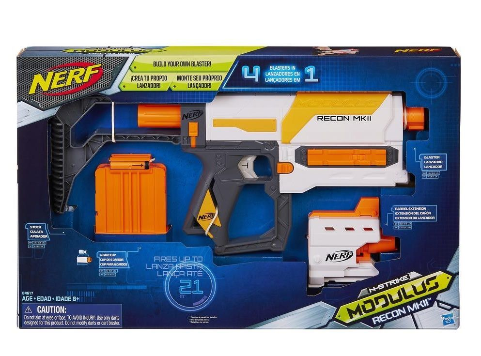 Lança Dardo Nerf Modulus Recon Mk11 Hasbro