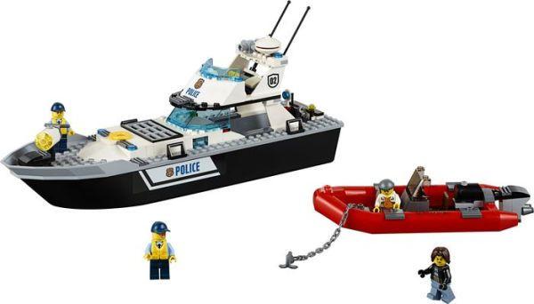Lego Barco Patrulha da Policia -60129