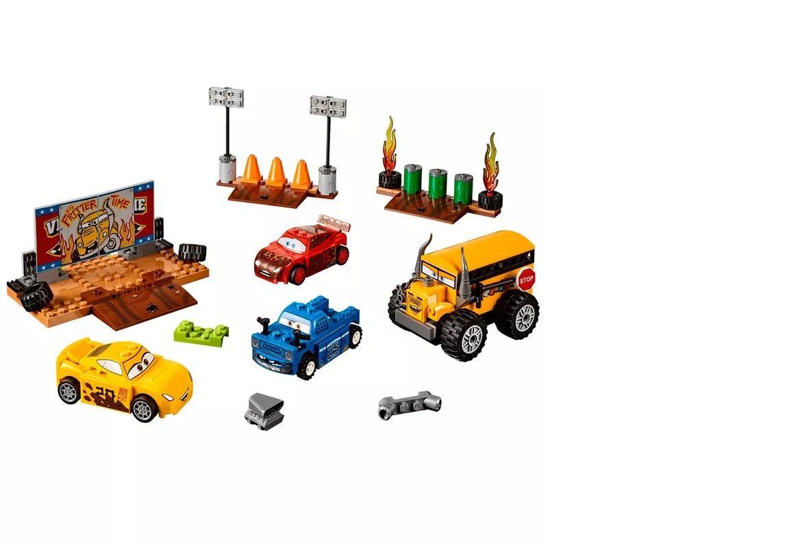 LEGO Juniors - Disney - Pixar - Carros 3 - Smokey Garage - 10744