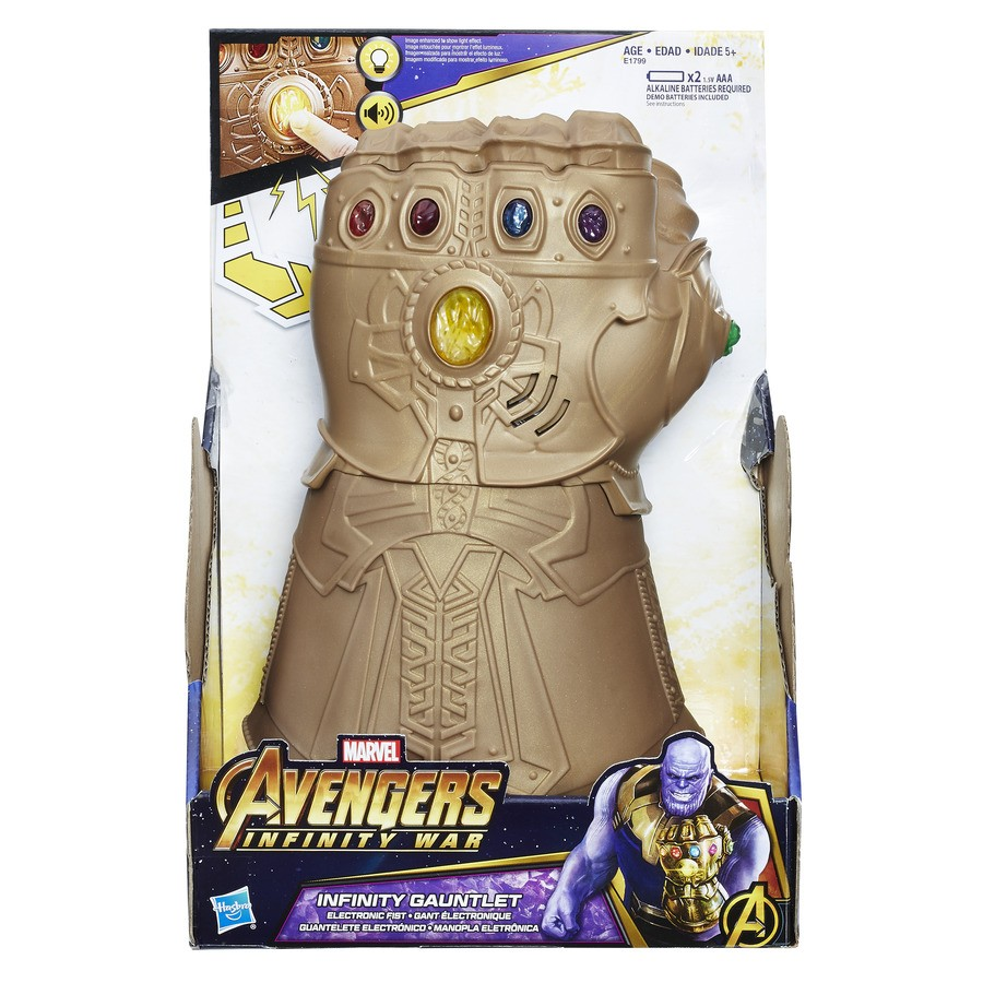 Manopla Eletrônica do Infinito Avengers Hasbro