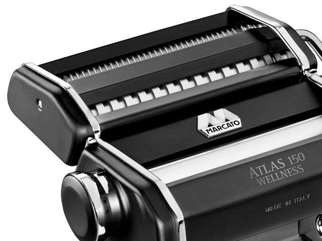 Máquina de Macarrão 3 Tipos de Massas ATLAS 150 Black Marcato