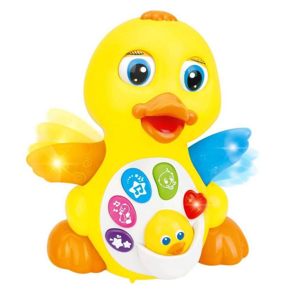 Patinho Amigo com Luz e Som - Zoop Toys