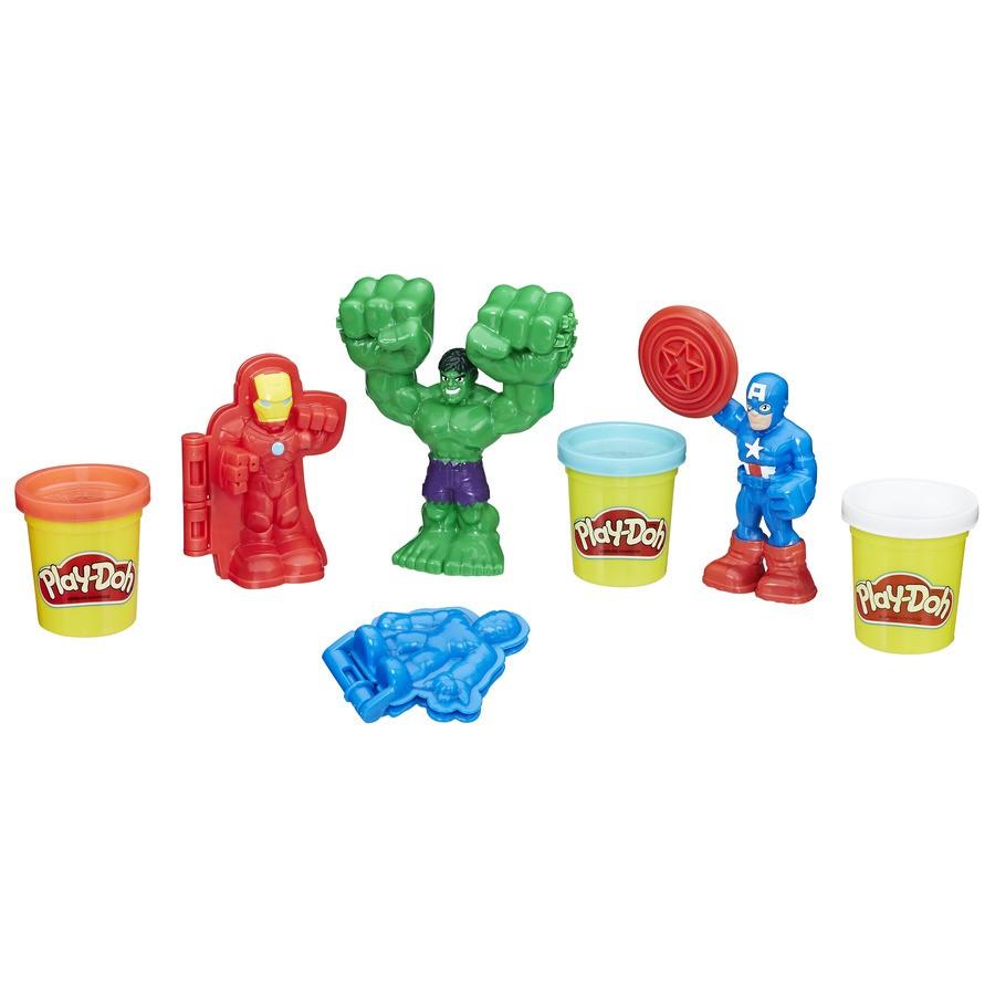 Play Doh Marvel Ferramentas Heróis Hasbro