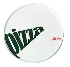 Prato para Pizza Porcelana Party