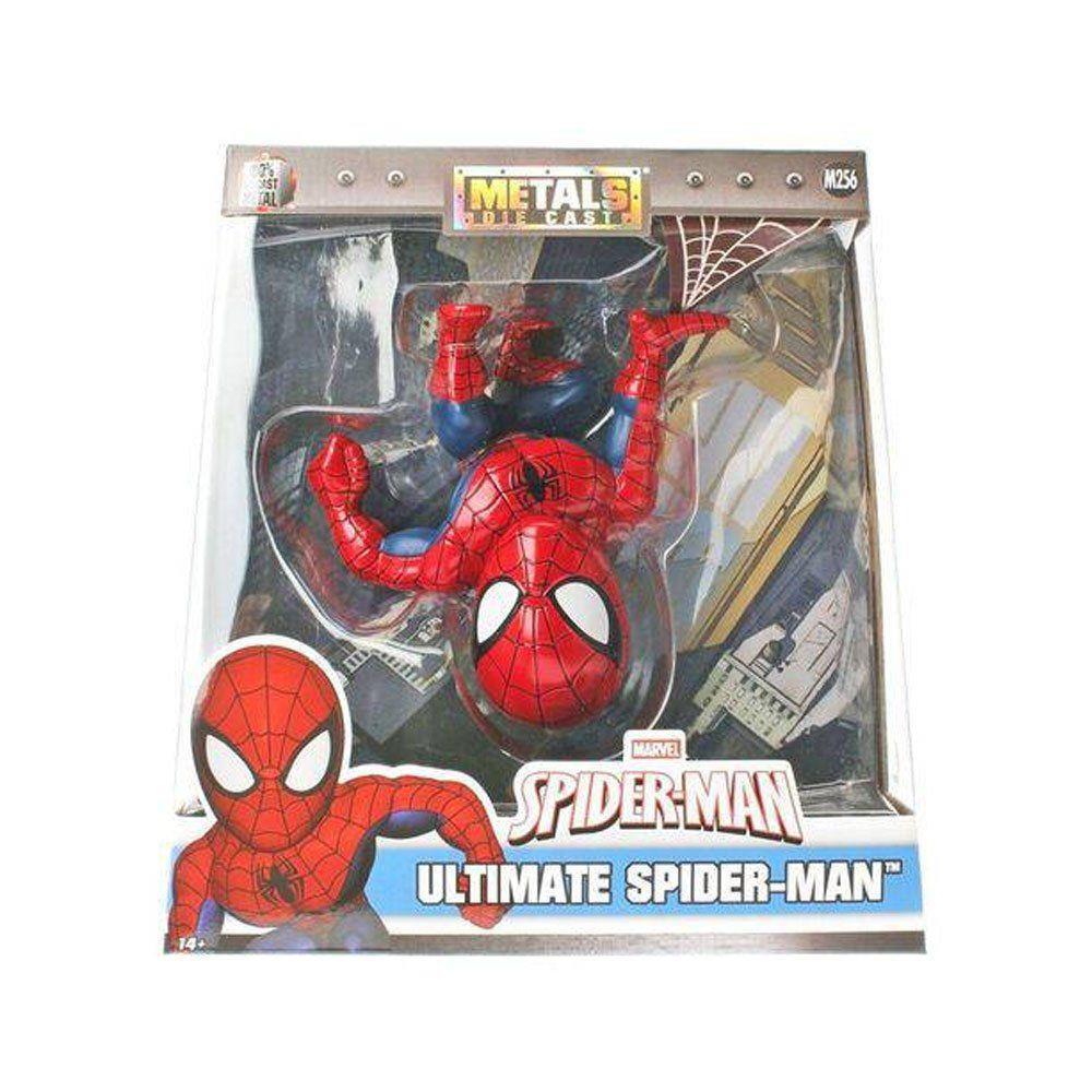Spiderman Marvel Metal Diecast Dtc - Vermelho