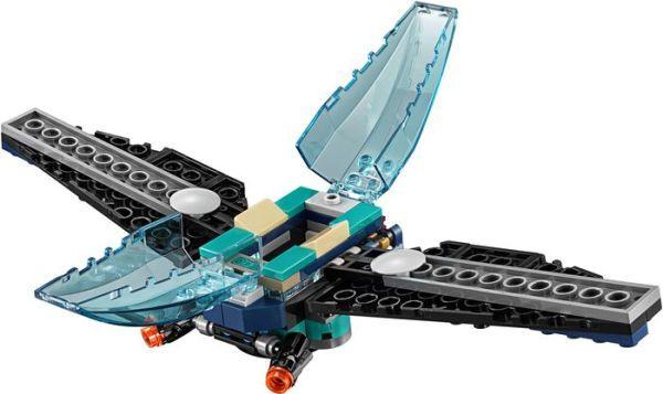 Super Heroes - Ataque a Escolta de Cargueiro 76101 Lego