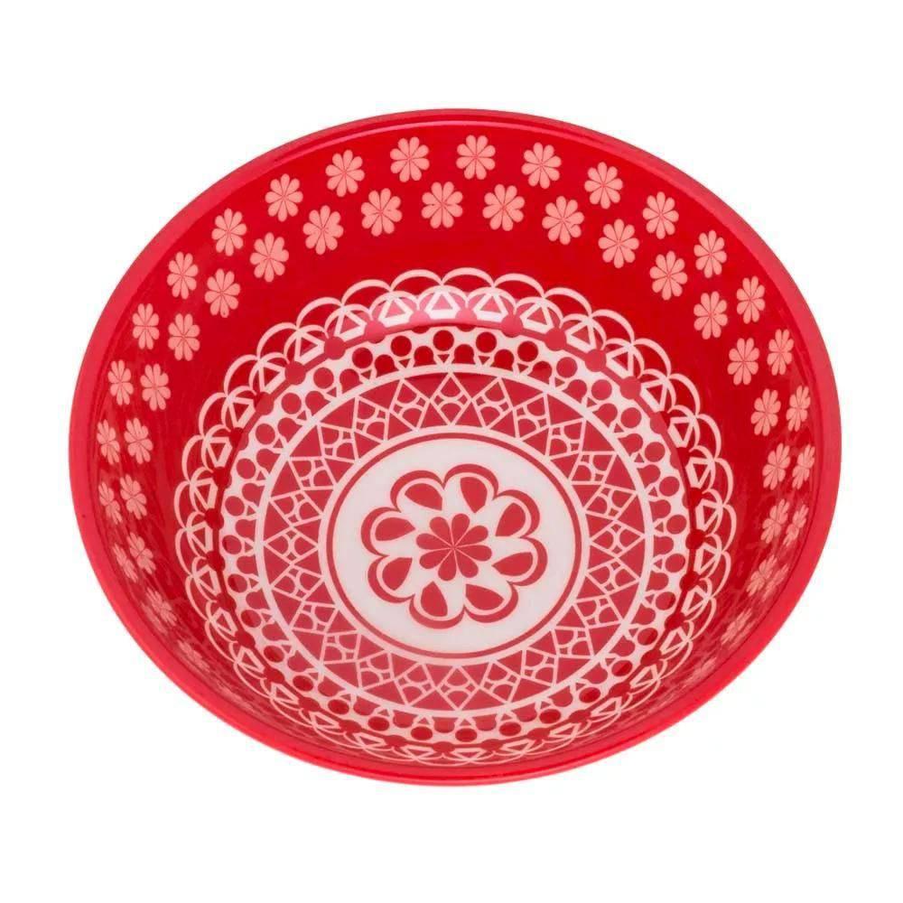 Tigela Bolw Cerâmica 600 ml Full Renda – Oxford Porcelanas