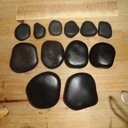 Kit De Pedras Quentes Vulcânicas 12 Peças