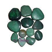 Kit De Pedras Para Massagens Quente Ou Fria Quartzo Verde