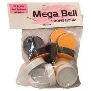 Kit de Lixas para Pedicuro Mega Bell