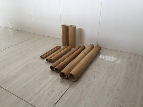 Kit Bambuterapia Com 10 Bambus Totalmente Lixado