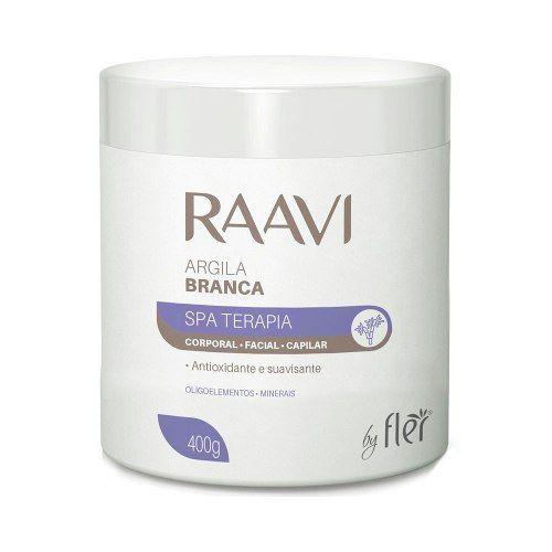 Argila Branca para Estética  400g Raavi