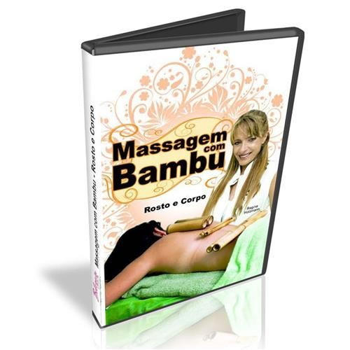 Dvd Massagem com Bambu