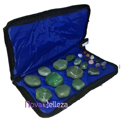Kit para Massagem com Pedras Quentes Completo