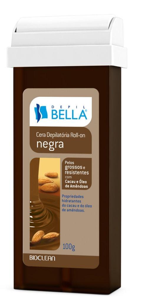 Refil de Cera Depilatória Roll-on Negra