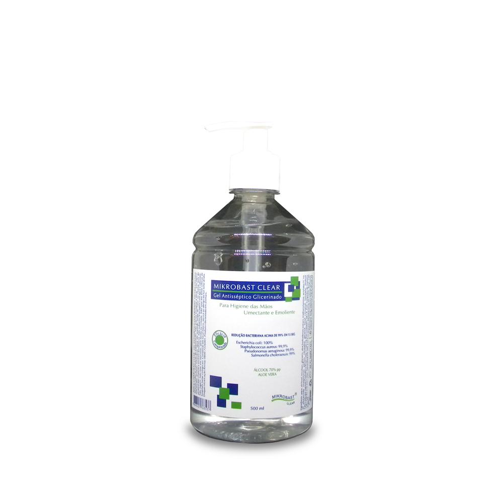 Gel Antisséptico Glicerinado Agreste - 500 ml  - Agreste Brasil - Cosmética Profissional