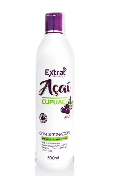 Condicionador de Açai e Cupuaçu 500ml Extrat Professional