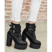 Boots Plataform Buckle