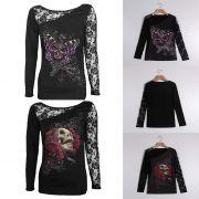 T-Shirt Gothic Skull