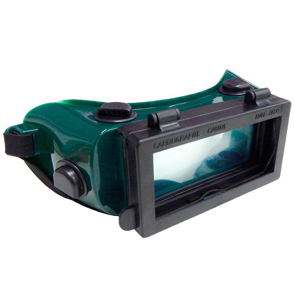 Óculos De Solda Cg 500 Visor Articulado - CARBOGRAFITE - MAQPOINT 3b114d5a24
