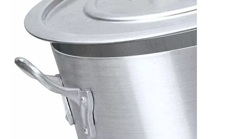 Panela Caçarola De Alumínio Numero 36 - Altura 17 (16,3L) REAL  - LZ COZINHA