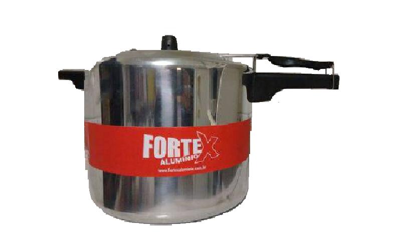 Panela De Pressão Industrial 20 Litros Alumínio Fortex (Cód.59493517)  - LZ COZINHA