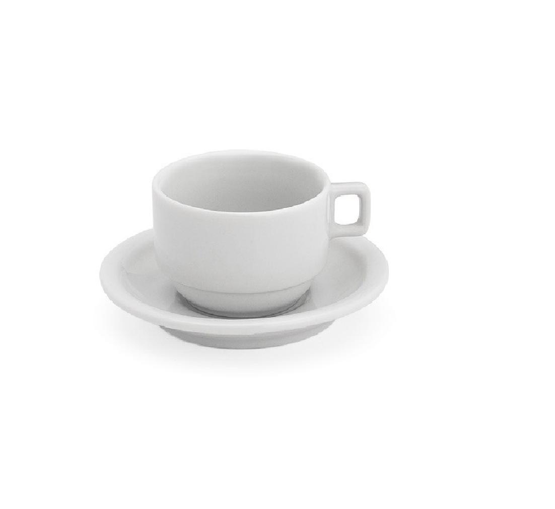 Xicara C/Pires Café  75ML  Ref: 1175  - LZ COZINHA