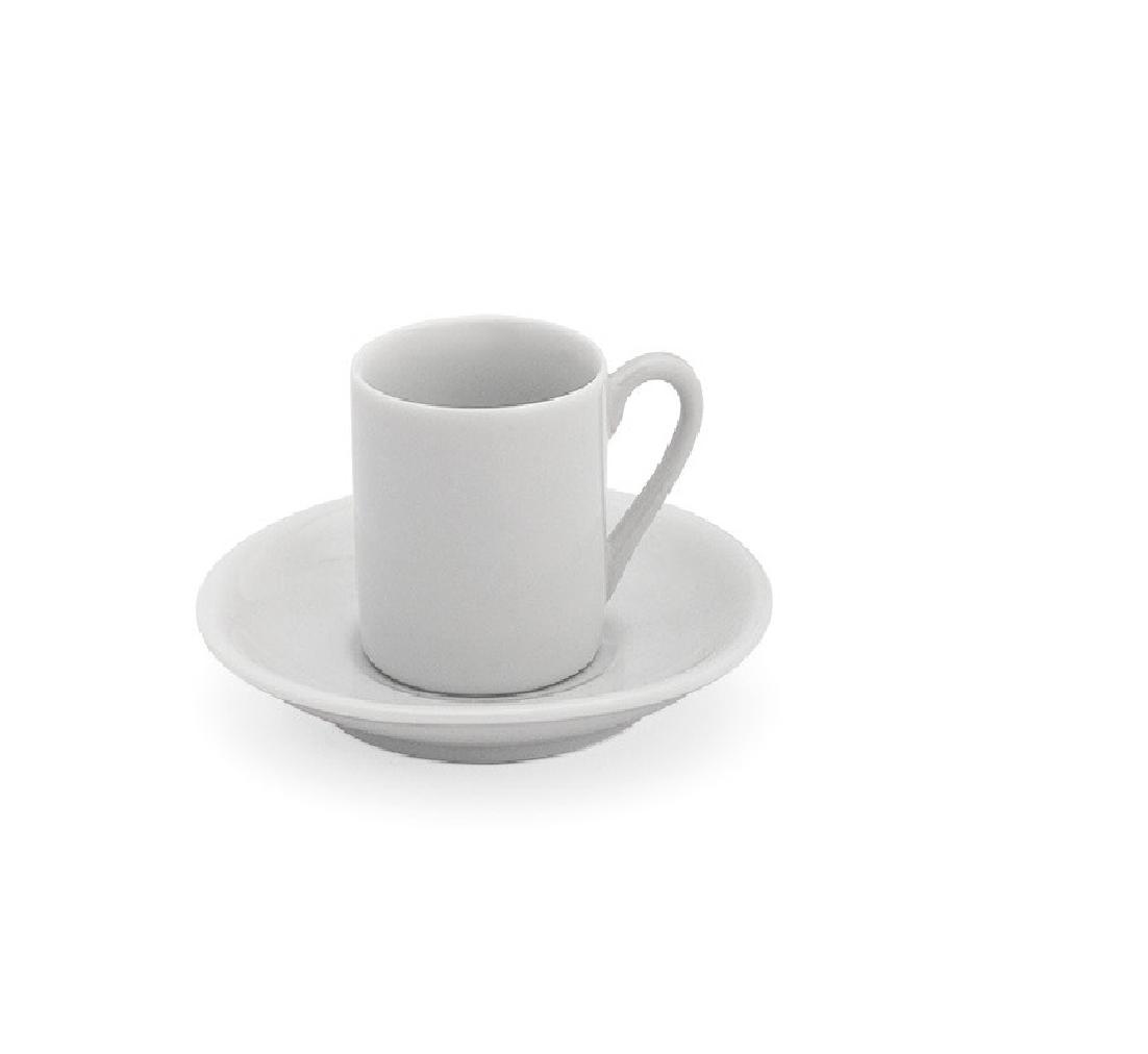 Xícara p/Café c/ pires 55 ml Ref :1186  - LZ COZINHA