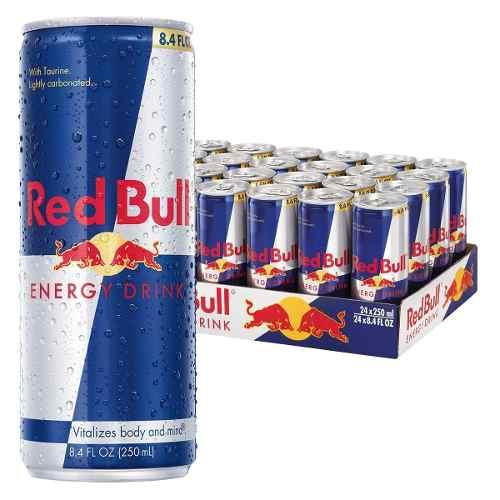 54073955cfc46 Energetico Red Bull 250 Ml Energy Drink Kit Com 8 Unidades - ULTRAJUNIOR