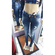 Calça Jeans Feminina Darlook Cintura Alta Calças Para Mulher