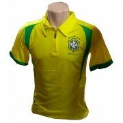 Camiseta Polo Seleção Brasileira Brasil