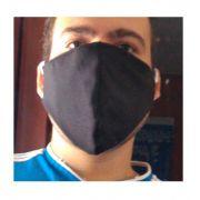 Máscara De Tecido Reutilizável Lavável Com Forro 3 Unidade